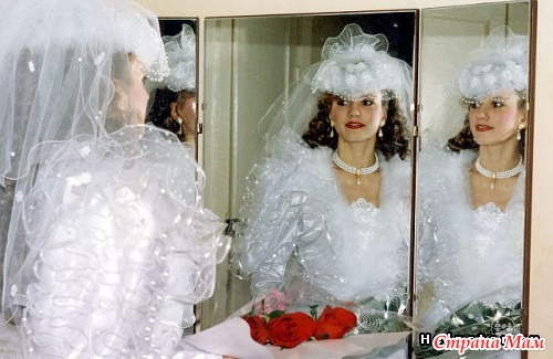 Свадебные платья 80-х годов