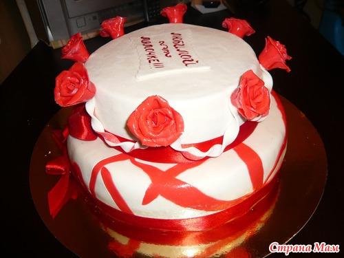 тортик на юбилей фото
