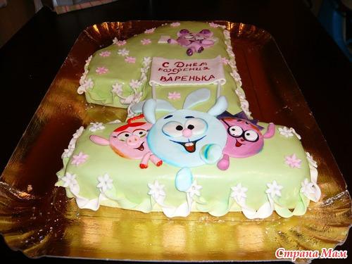 Каталог фото детских тортиков на годик