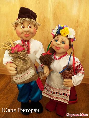 Куклы в национальных костюмах своими руками