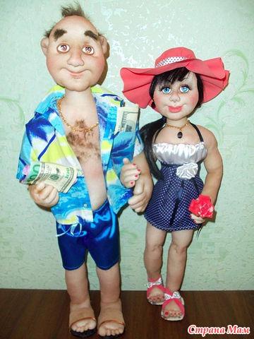 Заработать шитьем кукол