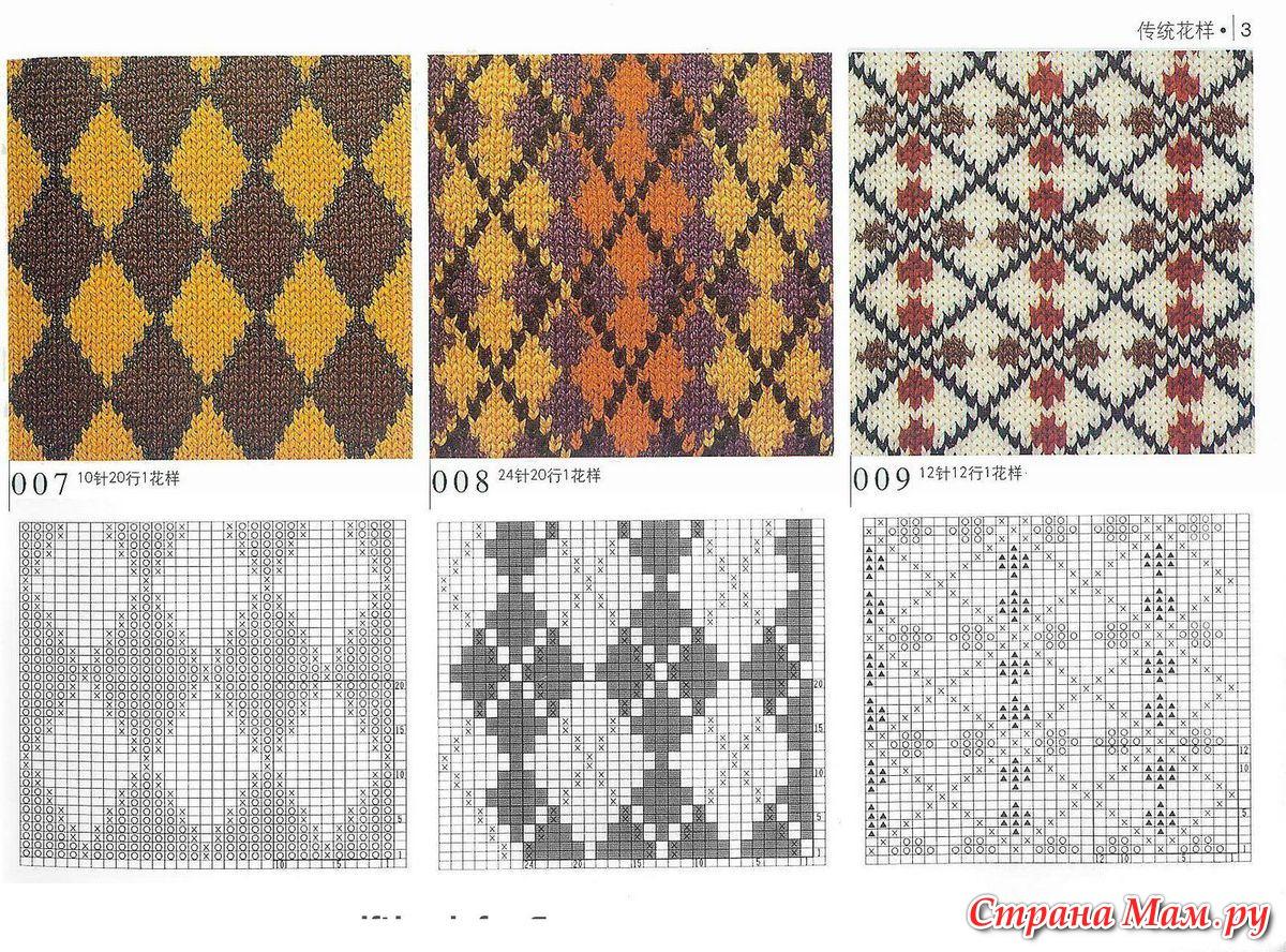 Узоры (2 -х цветные) Записи в рубрике - узоры (2-х цветные) 76