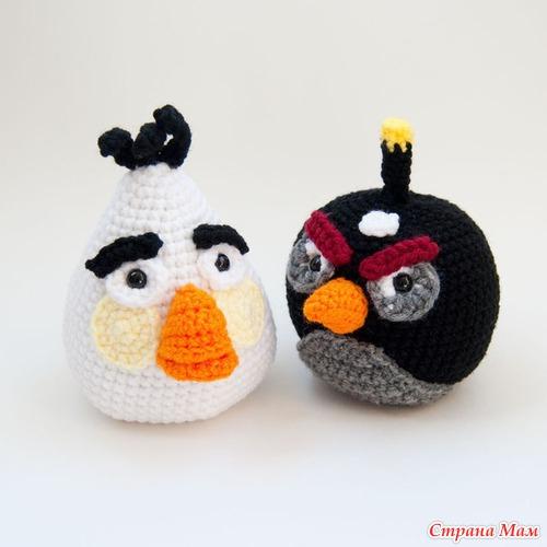 Angry Birds - Вязание - Страна