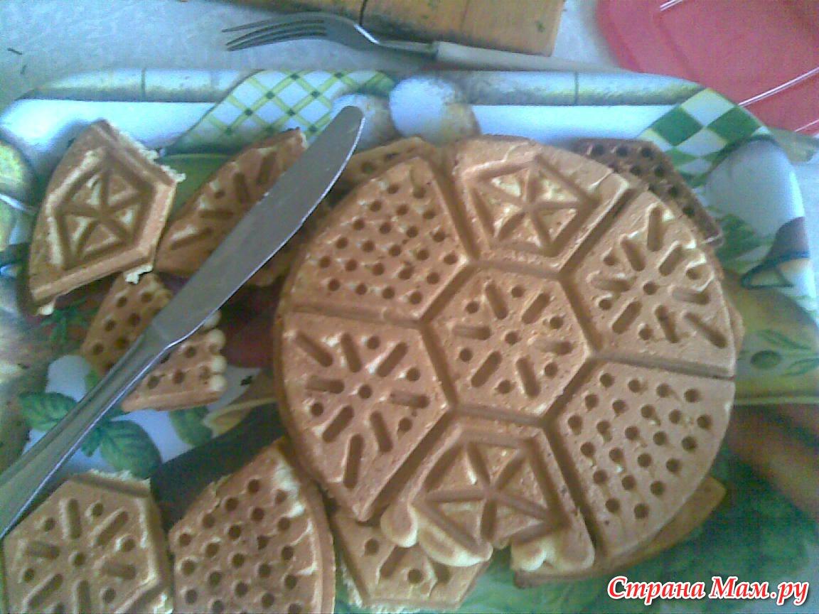 Печенье как в детстве на двусторонней сковороде рецепт с