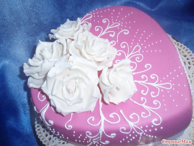 картинки торты из мастики