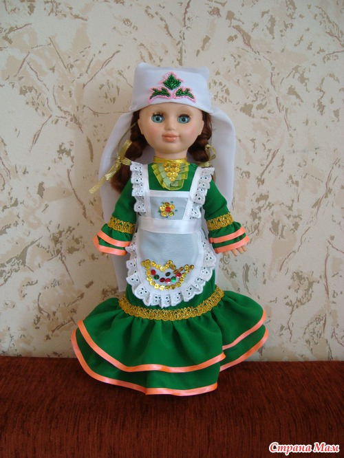 Как сшить куклу татарскую