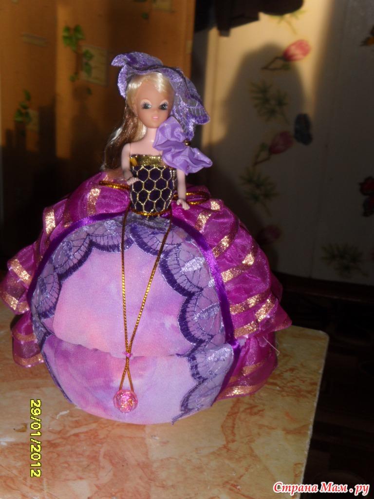 Как сделать куклу шкатулку ютуб