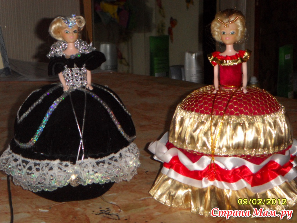 Куклы шкатулки мастер классы видео