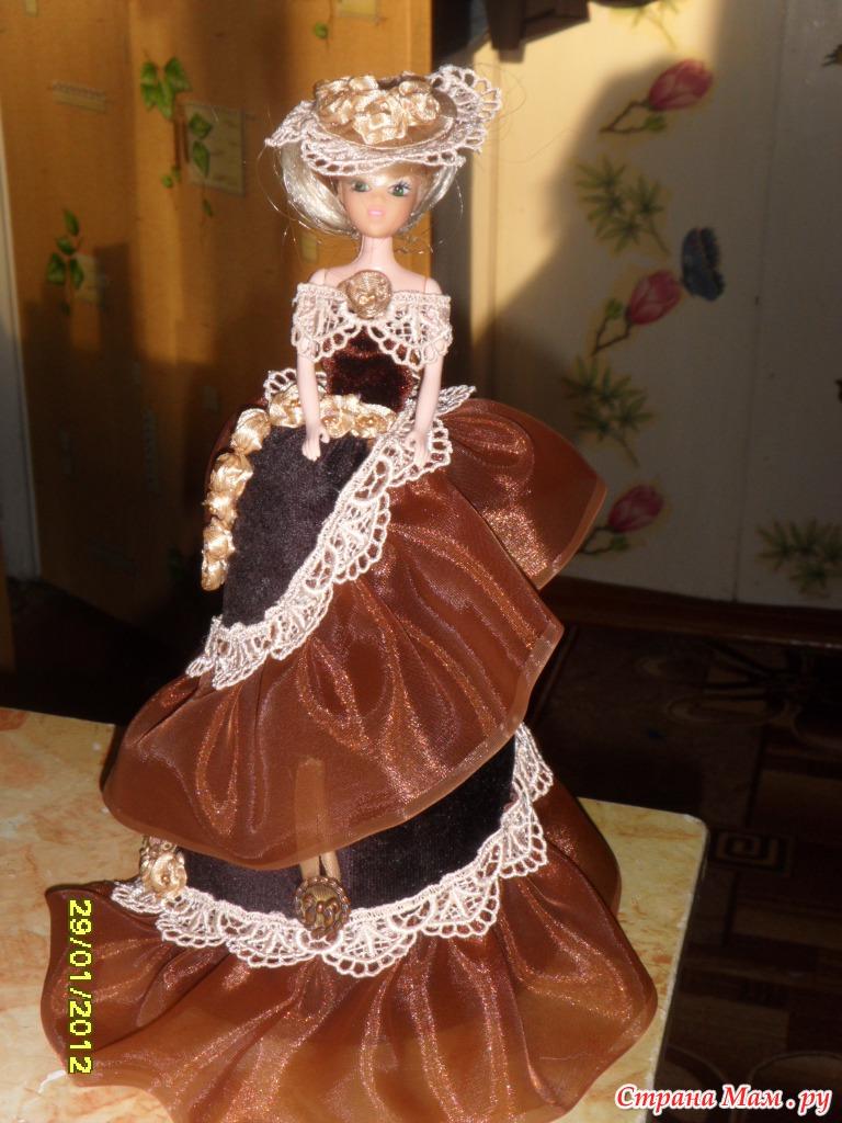 Кукла -шкатулка своими руками