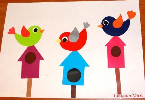 картинка птичек