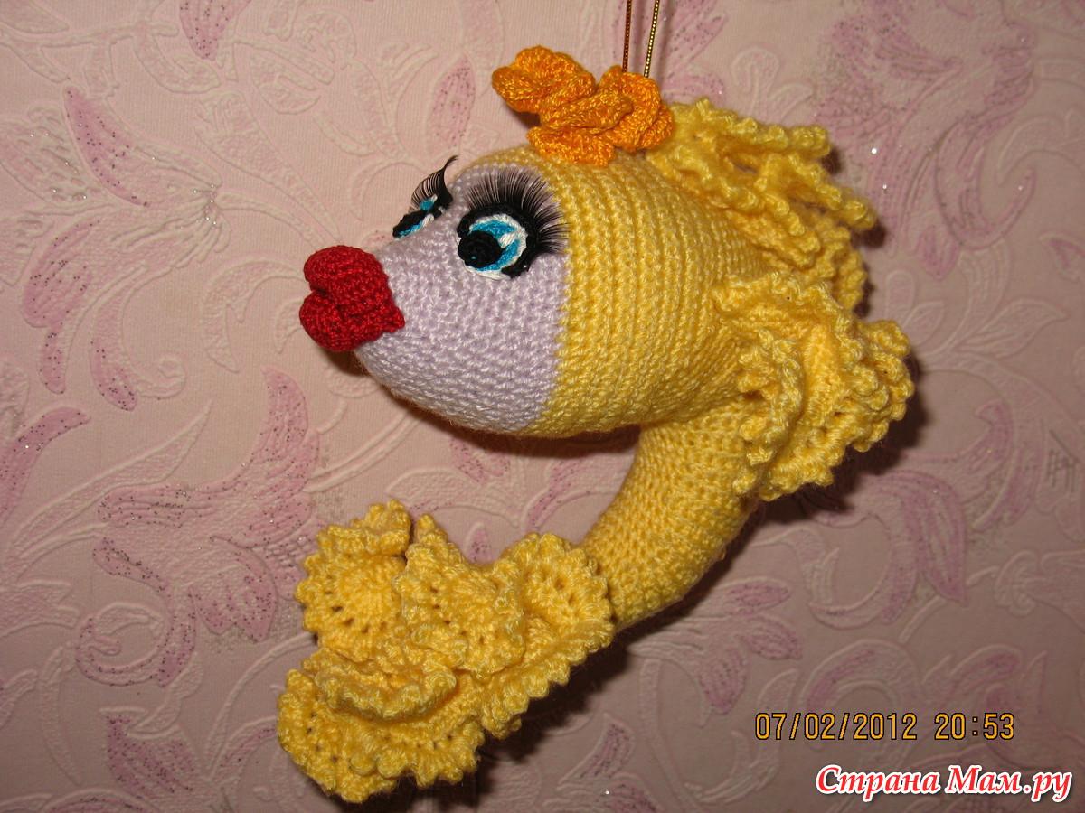 золотая рыбка elenushka80 крючком схема