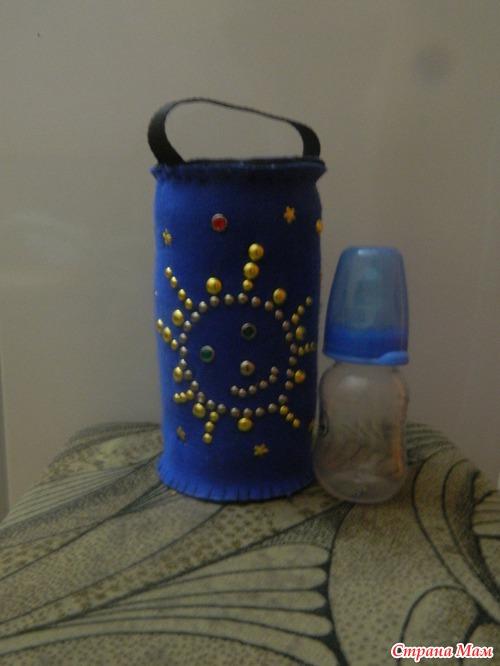 Термос для маленькой бутылочки - Поделки - Страна Мам