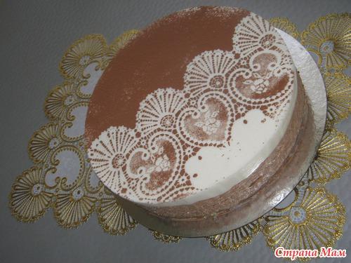 Крем из растительных сливок для украшения торта