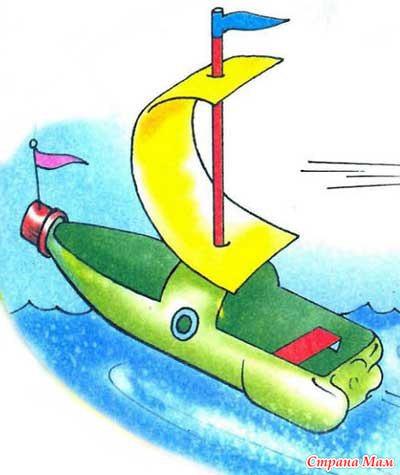 Как сделать корабль самолёт