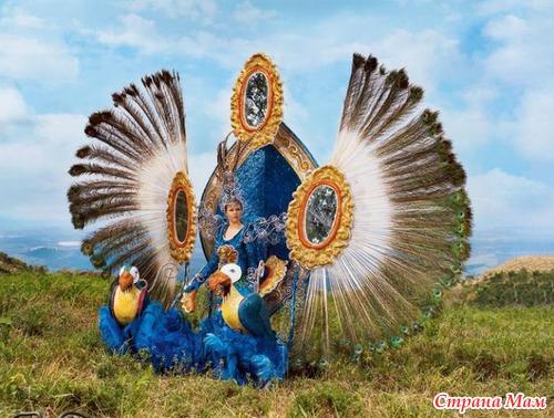 Скрапбукинг Бразильский карнавал костюмСделать переноску своими руками