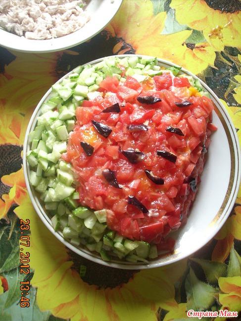 Разные салати с фото