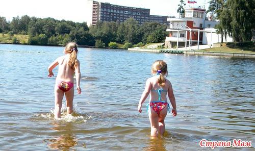 Картинки на речке летом