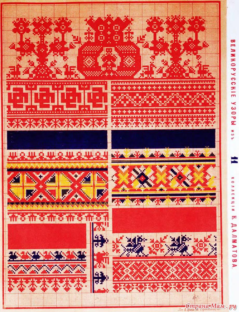 Значение орнамента русской вышивки