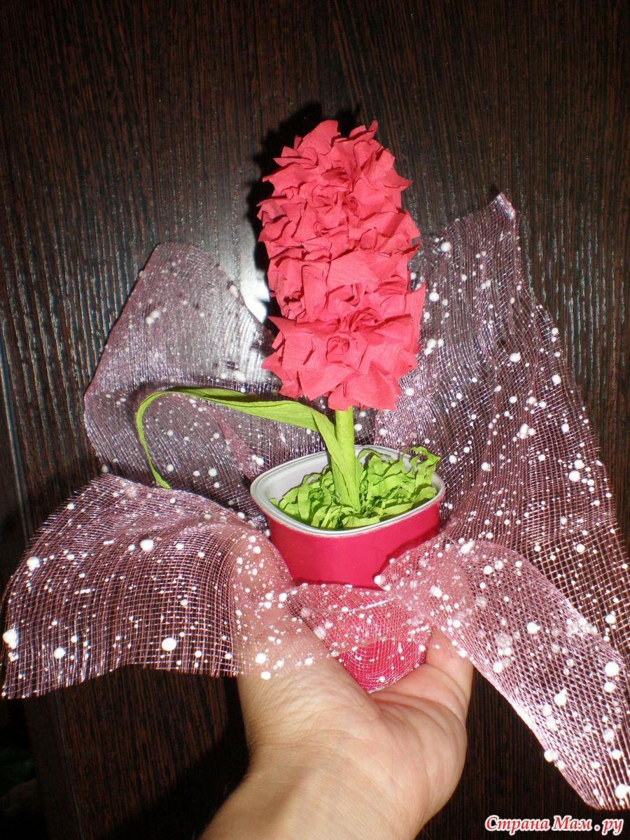 Поделка цветы с пошаговыми фото
