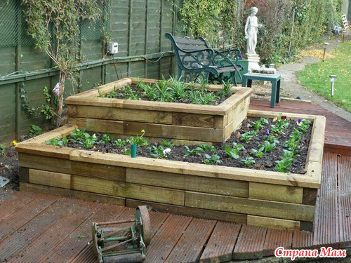 Тэги высокие грядки огород сад