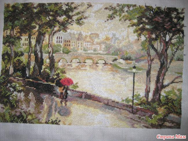 Париж после дождя скачать