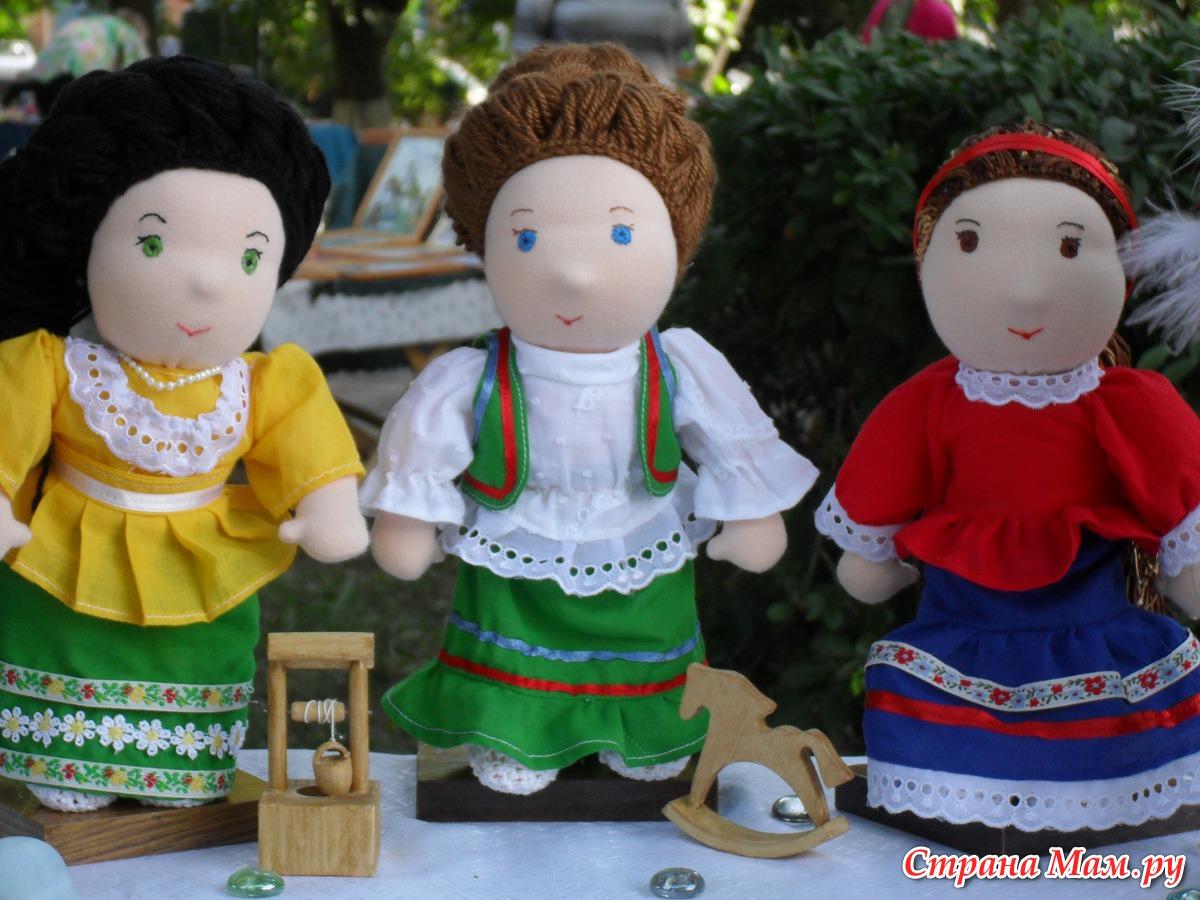 Как сшить куклу своими руками казака и казачку 33