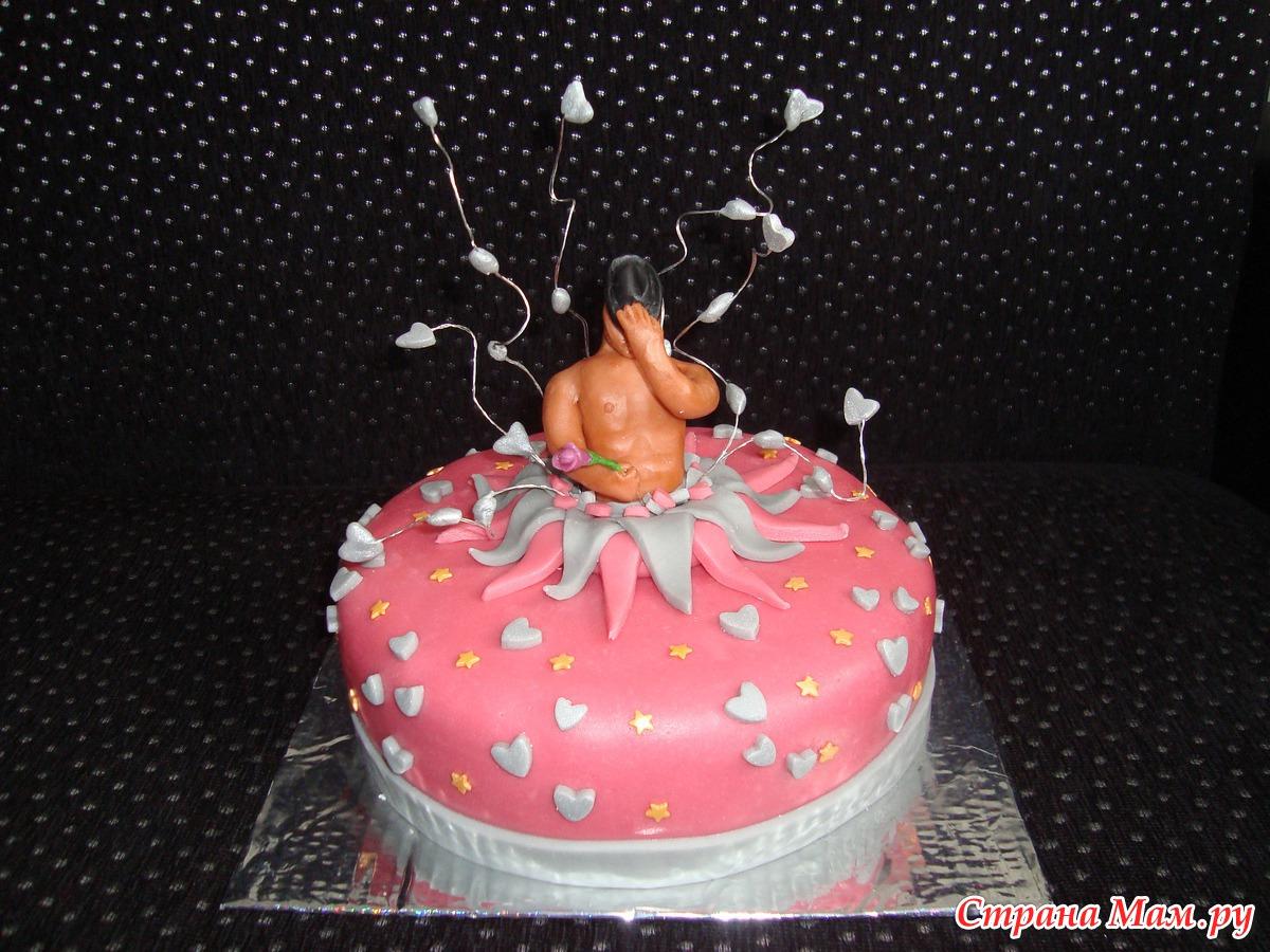 Стриптезеры кончают на торт 11 фотография