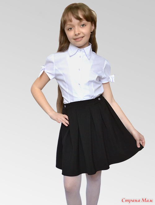 Как сшить юбку школьную на девочку 26