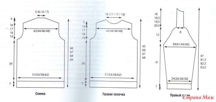 Вязаные Кофты Большого Размера