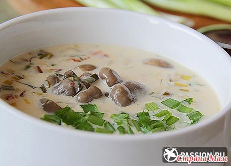 Суп из вешенок пошаговый рецепт с фото