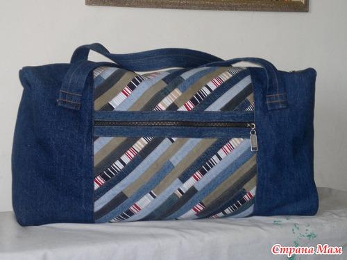 Дорожной сумки своими руками