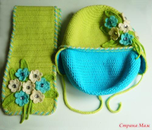 пряжа для зимней шапочки все в ажуре вязание крючком страна мам
