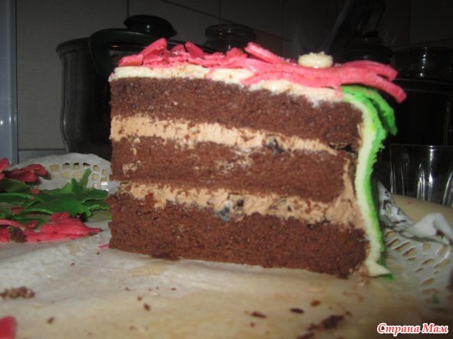 Торт шифоновая прага пироги торты