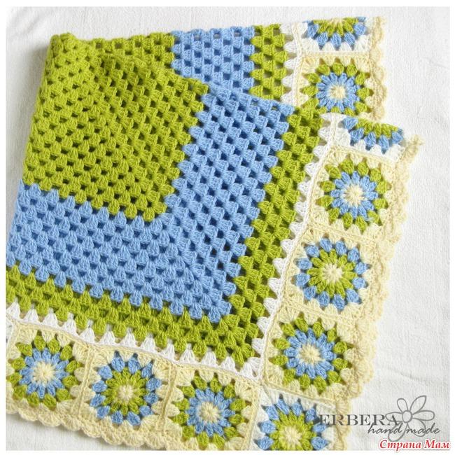 Идеи детских одеял №4