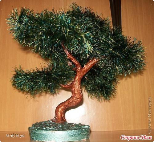 Как сделать дерево из травы