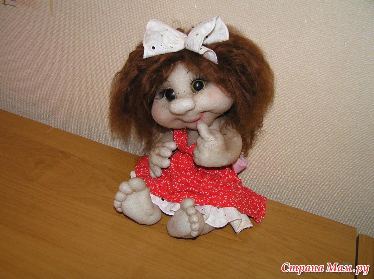 Кукла своими руками из капрона фото
