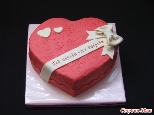 Торт на 1 год свадьбы фото