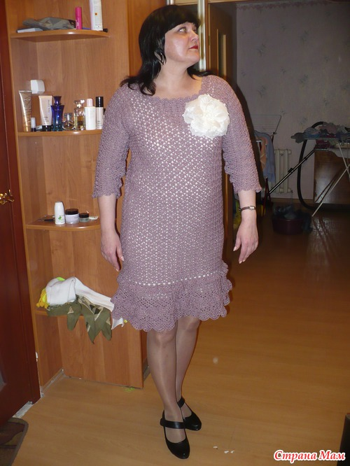 Фото теток в платьях 24 фотография