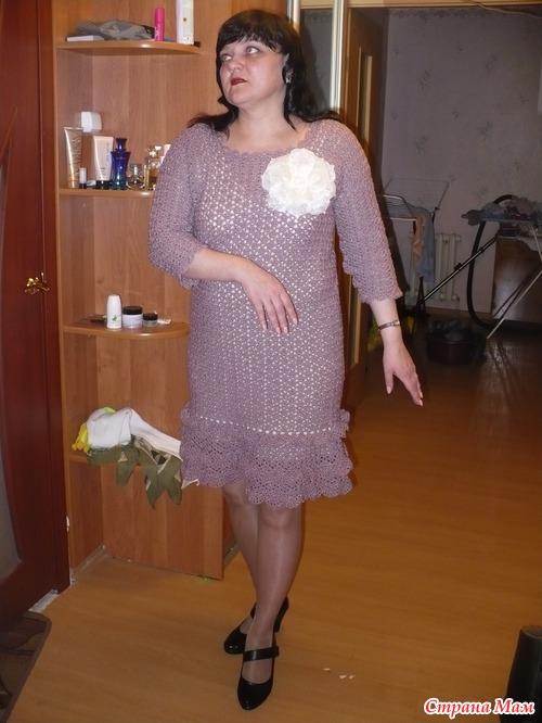 Фото теток в платьях 23 фотография