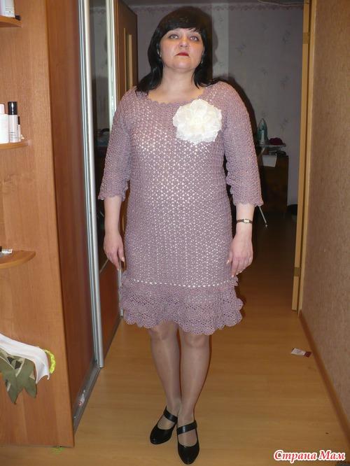 Фото теток в платьях 19 фотография
