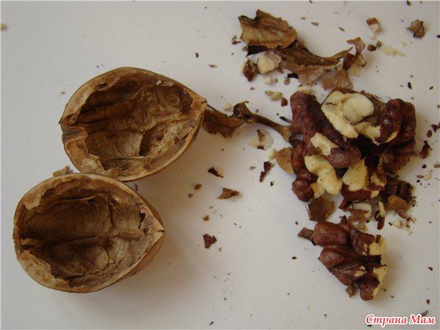 Новогодние орешки с пожеланиями