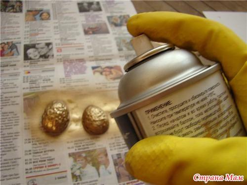 Золотой орешек своими руками