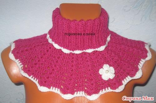 Манишка - Вязание для детей