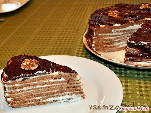 Вкусный торт с орехами рецепт с фото