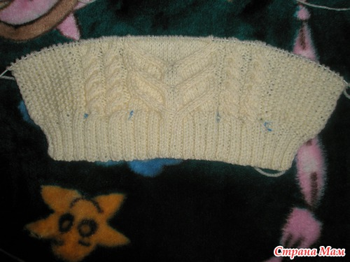 Вязание свитер для рыбака 85