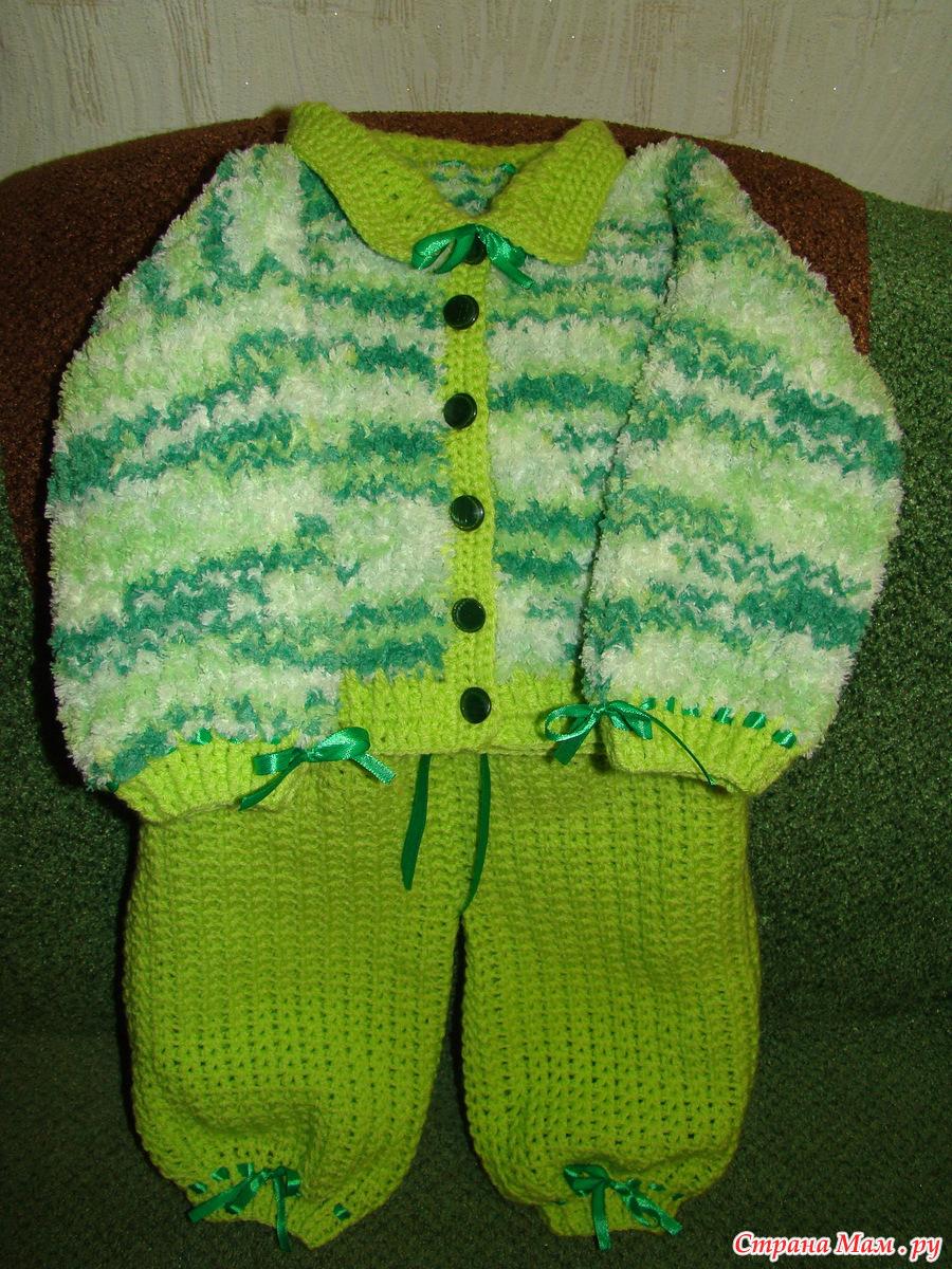 Вязание для малышей страна мам 13