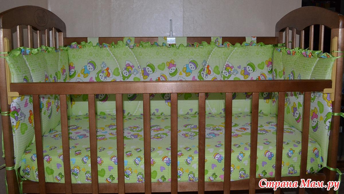 Бортики на детскую кроватку своими руками пошагово