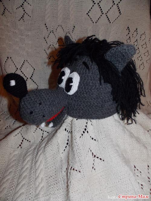 Картинки: Вязание шапок. Волк. Пошаговый мастер-класс (Картинки) в Брянске