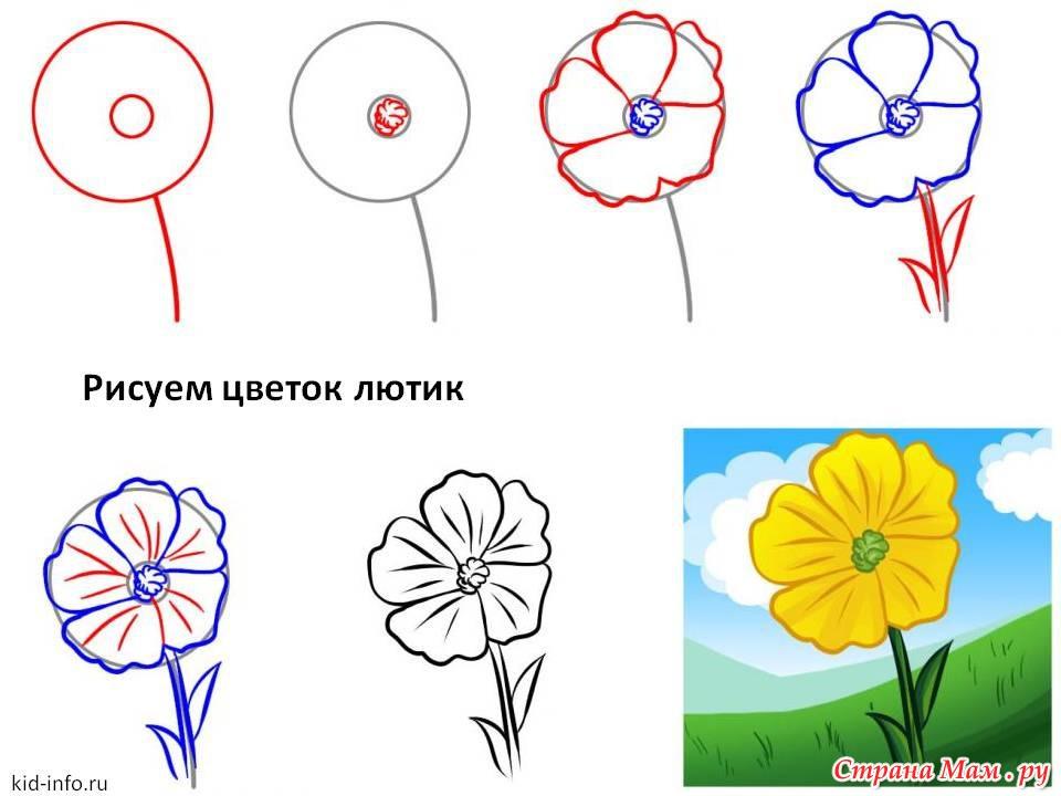 Цветы для будущих художников - Маленький художник - Страна Мам
