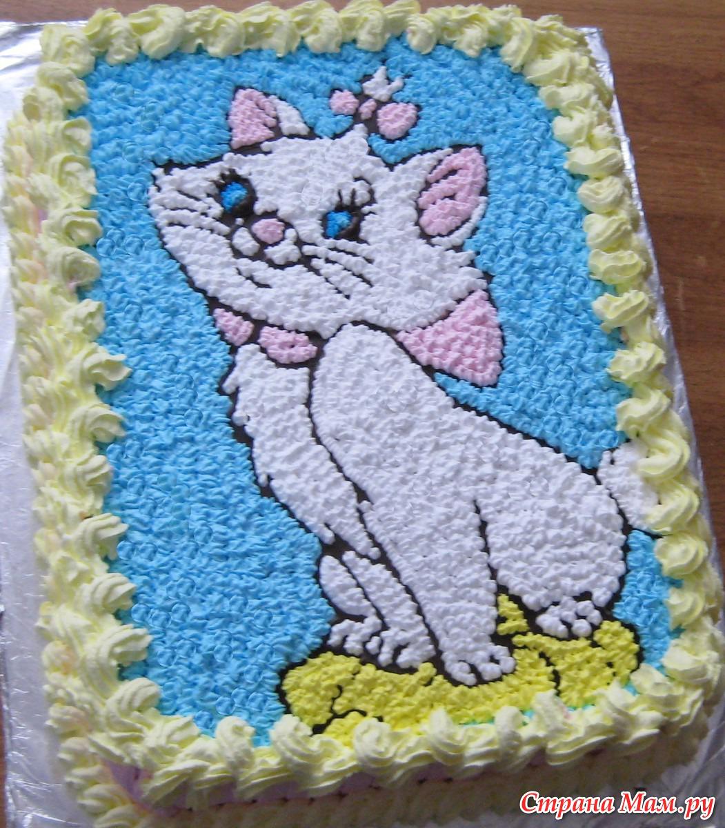 Как сделать детский кремовый торт